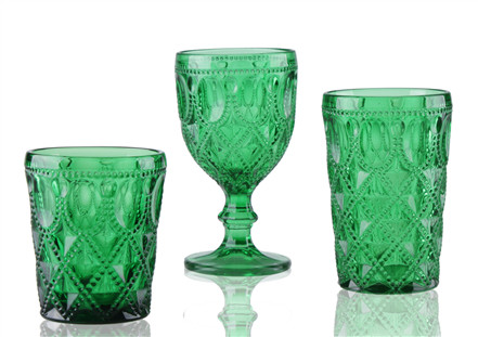 Bling-bling drinking glasses