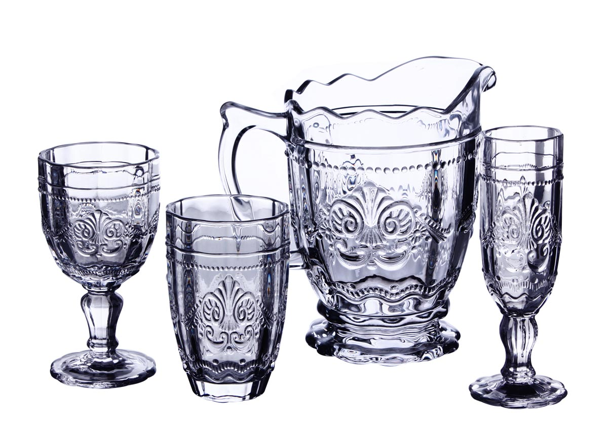 Bacchus drinking glasses